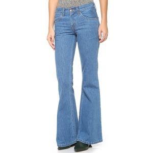 Vintage Orange Tag Levi's Bell Bottom Jeans